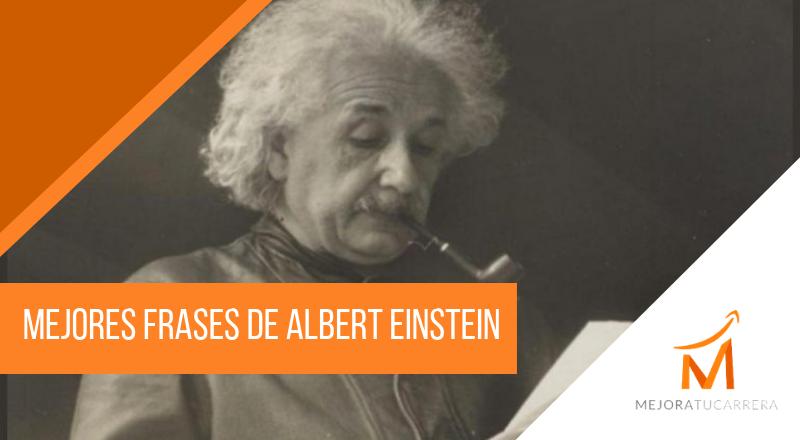 Mejores frases de Albert Einstein