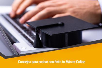 como acabar con exito un master online
