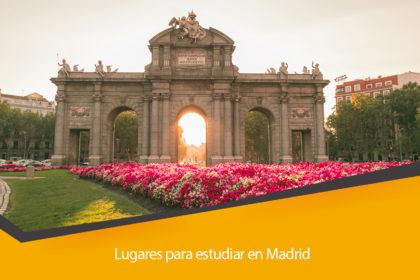 Lugares para estudiar en Madrid