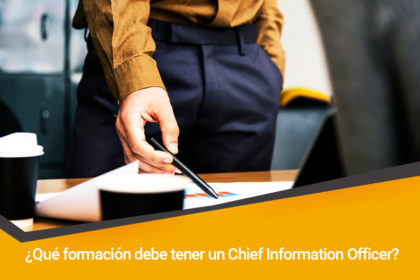 chief information officer formacion