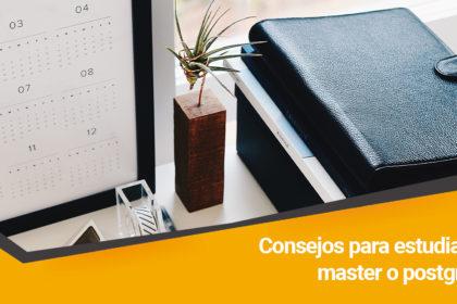 Consejos estudiar master