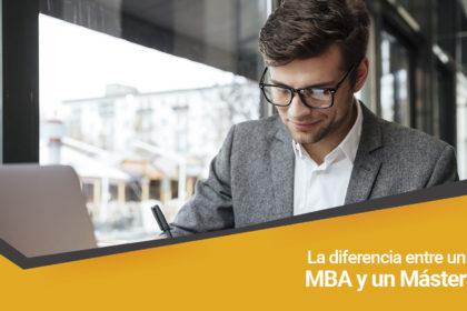 La diferencia entre un MBA y un Máster
